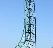 Kingda Ka - Worlds Tallest and Fastest Roller Coaster by Paul Gitto