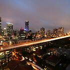 Brisbane By Night by Melissa Belanic