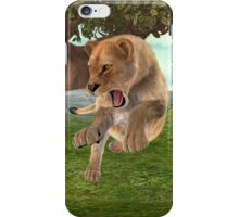 Hunting Lioness iPhone Case/Skin