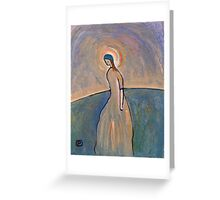 A saintly woman Greeting Card