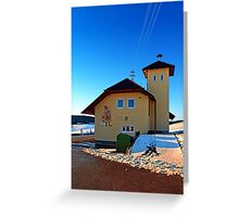 The firestation of Schoenegg II | architectural photography Greeting Card
