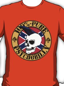 Pure Psychobilly - Flag T-Shirt