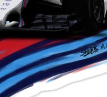 Williams Martini Racing Felipe19 Sticker