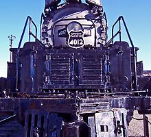 Union Pacific 4012 by mychaelalchemy