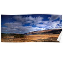Loch Tulla from Forest Lodge Poster