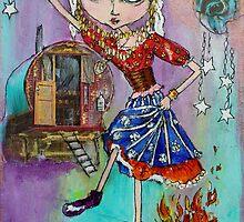 Gypsy Cora by junglejaneart