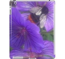 Flowers and Bees iPad Case/Skin