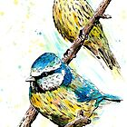 Two Birds by Calum Margetts Illustration