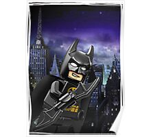 """Lego Batman """"Relax everybody I'm here"""" Poster"""