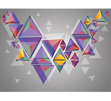 Abstract triangles 3 Photographic Print