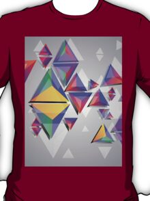 Abstract triangles 4 T-Shirt