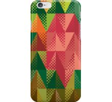 Abstract triangles 5 iPhone Case/Skin