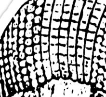 ARMADILLO BRAND SHIRT 02 Sticker
