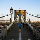 Brooklyn Bridge Runner by Louis Galli