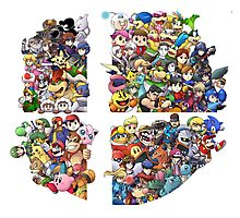 Super Smash Bros. 4 Ever Photographic Print