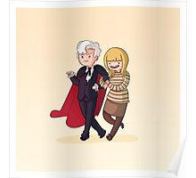 Adventure Time and Space! 3rd Doctor Poster