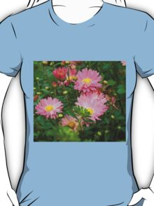 Pink Asters 4 T-Shirt