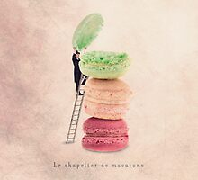 The macaroons hatter by Yann Pendaries