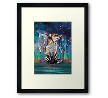 There is a Light Framed Print
