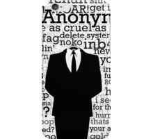 Anonymous, Expect Us iPhone Case/Skin
