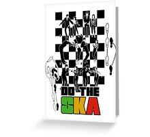 Do the Ska - colour Greeting Card
