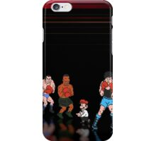 Mike Tyson - Punch Out pixel art iPhone Case/Skin