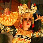Balinese Dancer by Ine Beerten