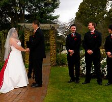 Wedding Ceremony. by Mark Jones