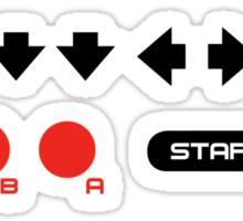 konami code v2 Sticker