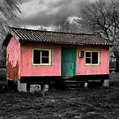 Pink Hut by Christophe Cotichelli