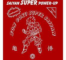 Super Saiyan Sriracha Sauce Photographic Print