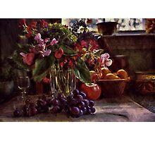 Fruit of Still Life Photographic Print