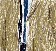Scribbled Castiel Sticker