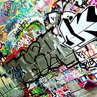 Graffiti Urban London Art by Lea Valley Photographic