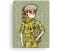 Sam from Moonrise Kingdom Canvas Print