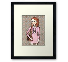 Suzy from Moonrise Kingdom Framed Print