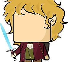 Bilbo Baggins (The Hobbit) Quin by Mattbrush