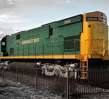 Alco Century 628 Locomotive.  by Gareth Chalklen