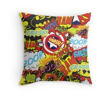 ComicFreak2 Throw Pillow