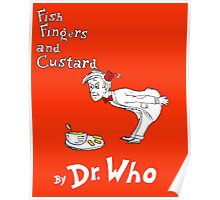 Fish Fingers and Custard Poster