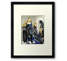 Sirens with Legs Framed Print