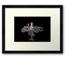 Doctor Who- Wibbly Wobbly, Disney Wisney Framed Print
