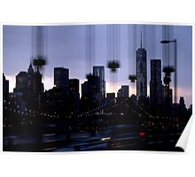 NYC Cityscape Poster