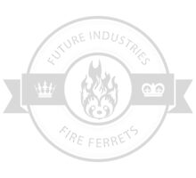 Vintage Future Industries Fire Ferrets Logo by spacesmuggler
