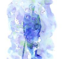 mycroft holmes - watercolor splatter by alice5854