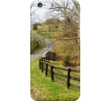 Taylorstown Landscape iPhone Case/Skin