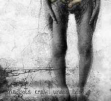 ...maggots crawl under her greying skin ~ ` by giovanni damiano presenza