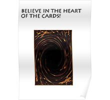 YU-GI-OH heart if the cards Poster