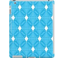 Abstract Blue Emeralds iPad Case/Skin
