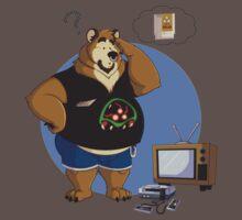 Gamer bear by Chocofox